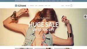billede af en flot smart pige med armene i vejret på forsiden af en ny webshop eksempel 1