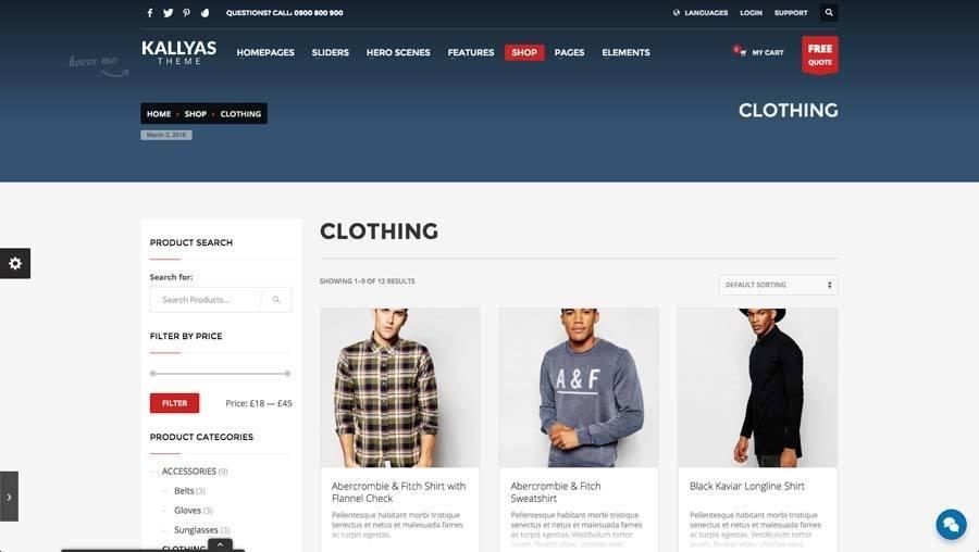 Billede af webshop eksempel 2 fra siden shop