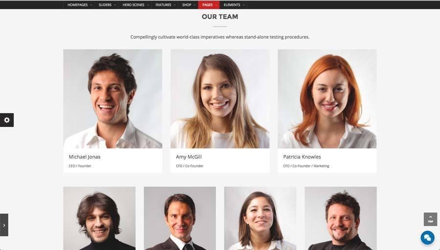 Billede af webshop eksempel 2 fra siden vores team