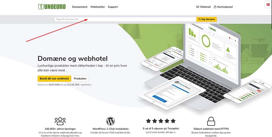unoeuro homepage