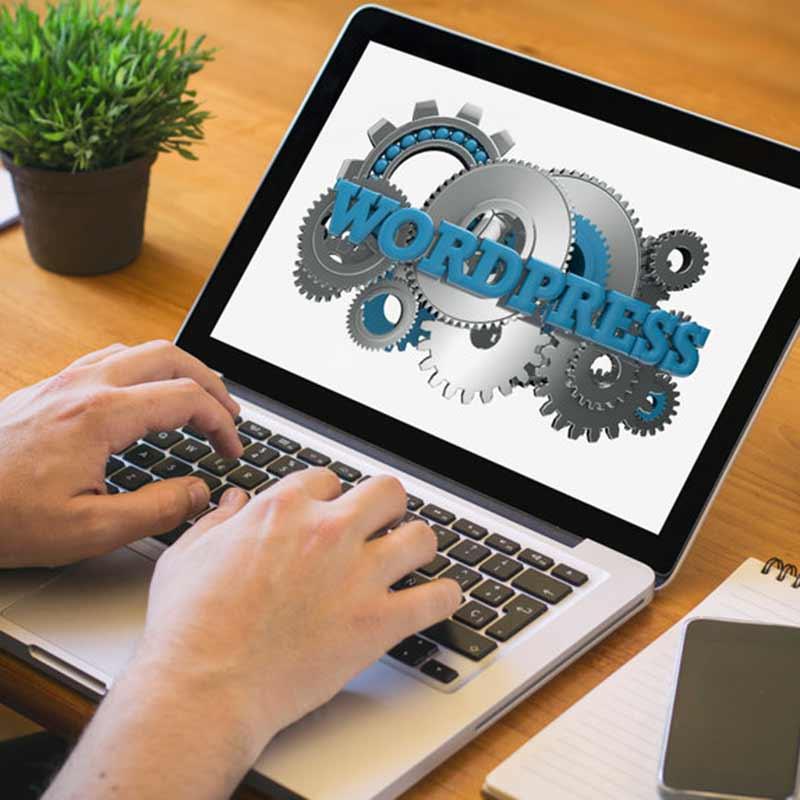 Et webbureau arbejder med Wordpress
